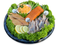 Fischplatte Amrum